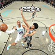 Charlotte Hornets V Brooklyn Nets Poster