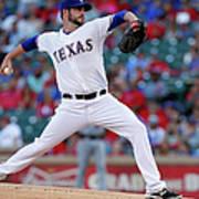 Houston Astros V Texas Rangers Poster