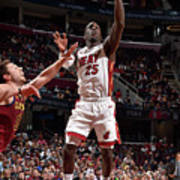Miami Heat V Cleveland Cavaliers Poster