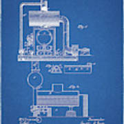 1885 Furnace Patent Poster