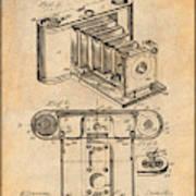 1899 Photographic Camera Patent Print Antique Paper Poster