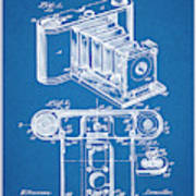 1899 Photographic Camera Patent Print Blueprint Poster