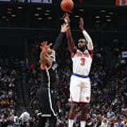 New York Knicks V Brooklyn Nets Poster