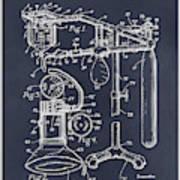 1919 Anesthetic Machine Blackboard Patent Print Poster