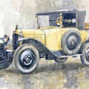 1925 Citroen 5cv Poster