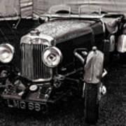 1930's Aston Martin Convertible Poster