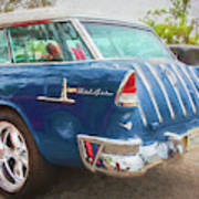 1955 Chevrolet Bel Air Nomad Station Wagon 228 Poster