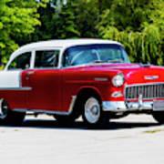 1955 Chevrolet Bel Air Poster