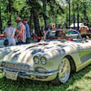 1961 Chevrolet Corvette 002 Poster