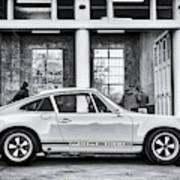 1972 Porsche 911 Monochrome Poster