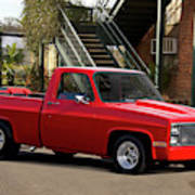1983 Chevrolet C10 Lrhh Pickup I Poster