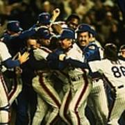 1986 World Series Mets Poster