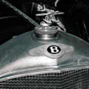 1928 Bentley 4 1/2 Litre Parkward Saloon Poster