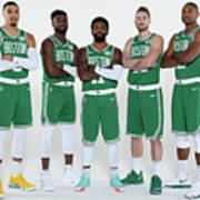 2018-19 Boston Celtics Media Day Poster
