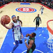 Boston Celtics V Detroit Pistons Poster