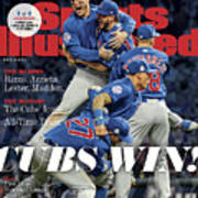 Chicago Cubs, 2016 World Series Champions Sports Illustrated Cover Poster