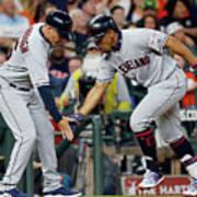 Cleveland Indians V Houston Astros 2 Poster