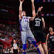 Houston Rockets V Detroit Pistons Poster