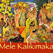 Mele Kalikimaka Poster