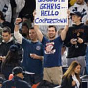 Mlb Sep 11 Orioles At Yankess - Derek 2 Poster