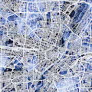 Munich Germany City Map Poster