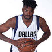 Nerlens Noel Dallas Mavericks Portraits Poster
