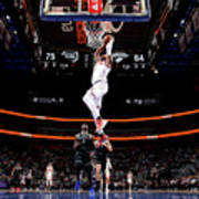 New York Knicks V Detroit Pistons Poster