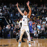 New York Knicks V Memphis Grizzlies Poster