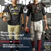 Nfc Gunslingers 2014 Nfl Football Preview Issue Sports Illustrated Cover Poster