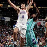 Oklahoma City Thunder V Charlotte Poster