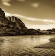 On The Rio Grande River Poster