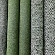 Rolls Of New Carpet Poster