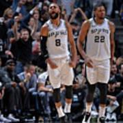 Sacramento Kings V San Antonio Spurs Poster