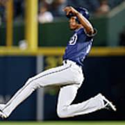 San Diego Padres V Atlanta Braves Poster