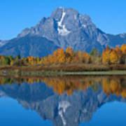 Teton Mountains Poster