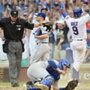 Toronto Blue Jays V Chicago Cubs Poster