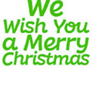 We Wish You A Merry Christmas Secret Santa Love Christmas Holiday Poster