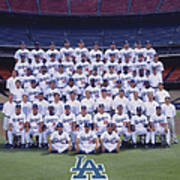 2004 Los Angeles Dodgers Team Photo Poster