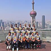 2017 Nba Global Games - China Poster