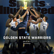 2018 Sportsperson Of The Year Golden State Warriors Sports Illustrated Cover Poster