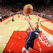 Dallas Mavericks V Houston Rockets Poster