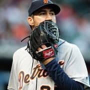 Detroit Tigers V Cleveland Indians 24 Poster