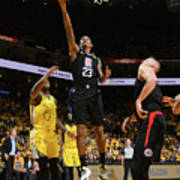 La Clippers V Golden State Warriors - Poster