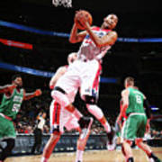 Boston Celtics V Washington Wizards Poster