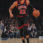 Chicago Bulls V New York Knicks Poster