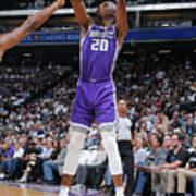 Utah Jazz V Sacramento Kings Poster