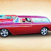 3 - 1955 Chevy's Poster