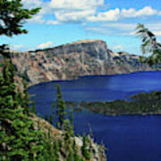 Crater Lake Oregon Poster