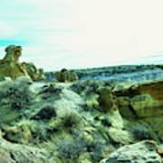 High Desert Landscape Poster