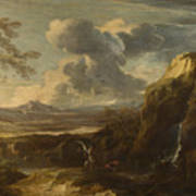 Landscape With Tobias And The Angel  Poster